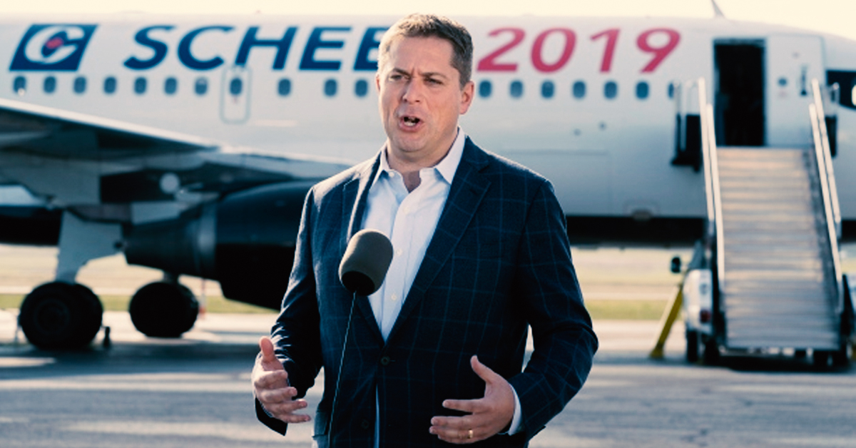 Canadians ridicule Scheer's 'privilege' comments after discovering $925,000 in expenses covered by the Conservative Party